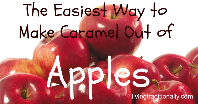 The Easiest Way to Make Caramel Out of Apples
