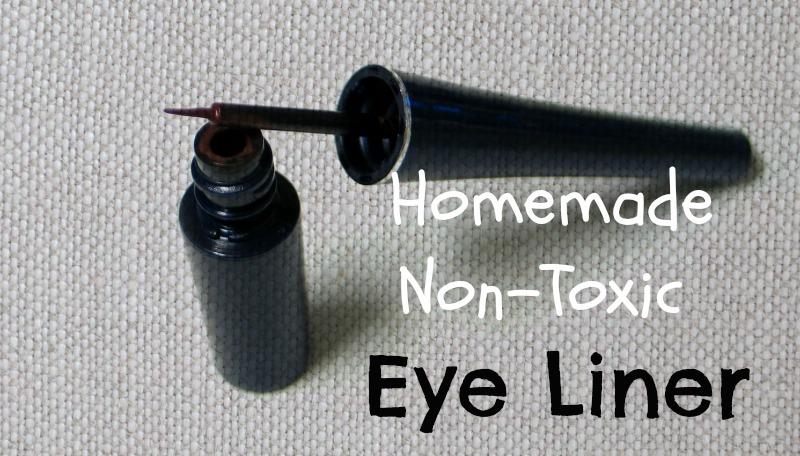 Easy Homemade Non-Toxic Eye Liner