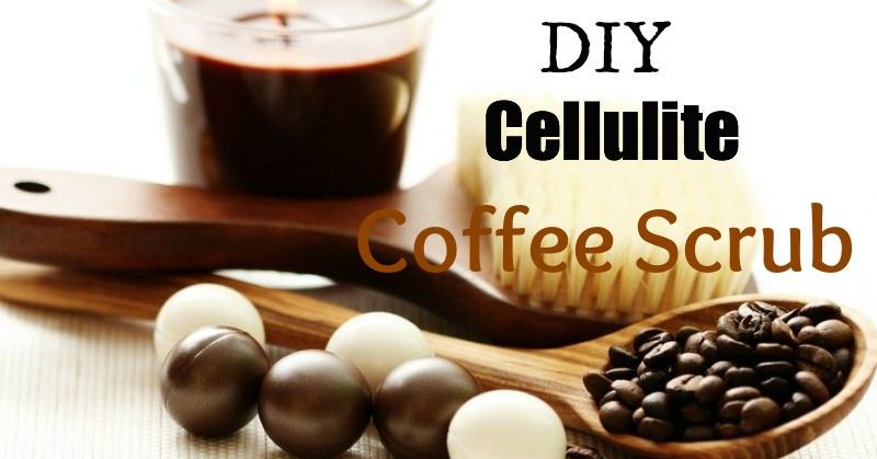 DIY Cellulite Coffee Scrub