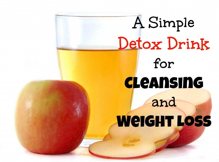 how to drink detox water for weight loss