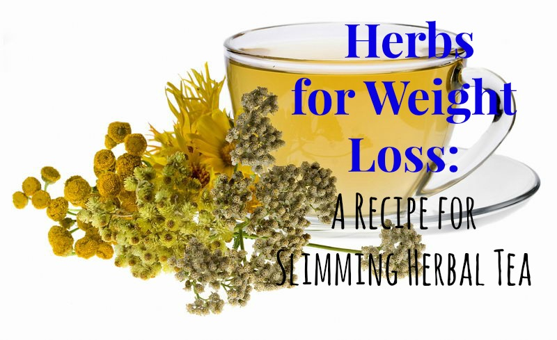 Herbs for Weight Loss: A Recipe for Slimming Herbal Tea