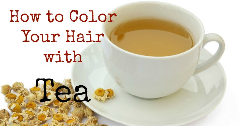 How to Color Your Hair with Tea