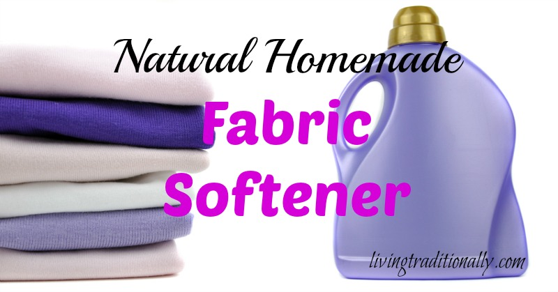 Natural Homemade Fabric Softener