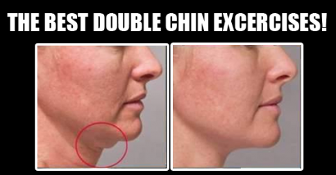 Jaw Exercises to Reduce Double Chin Double Chin Exercises Can Help